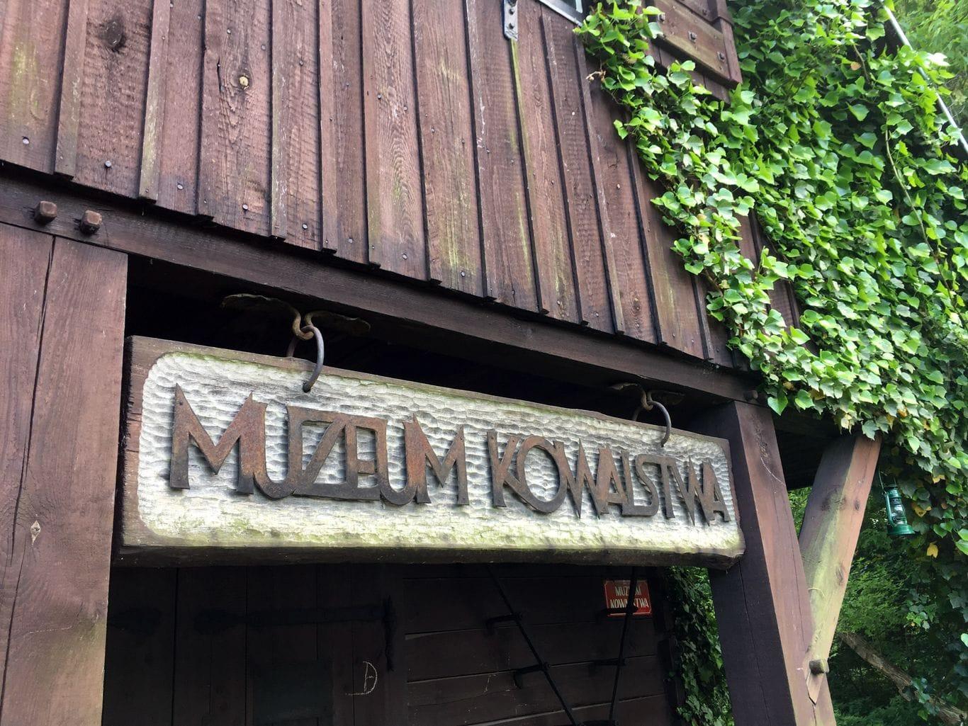 Muzeum kowalstwa w Warszawie - Metalowy Szyld