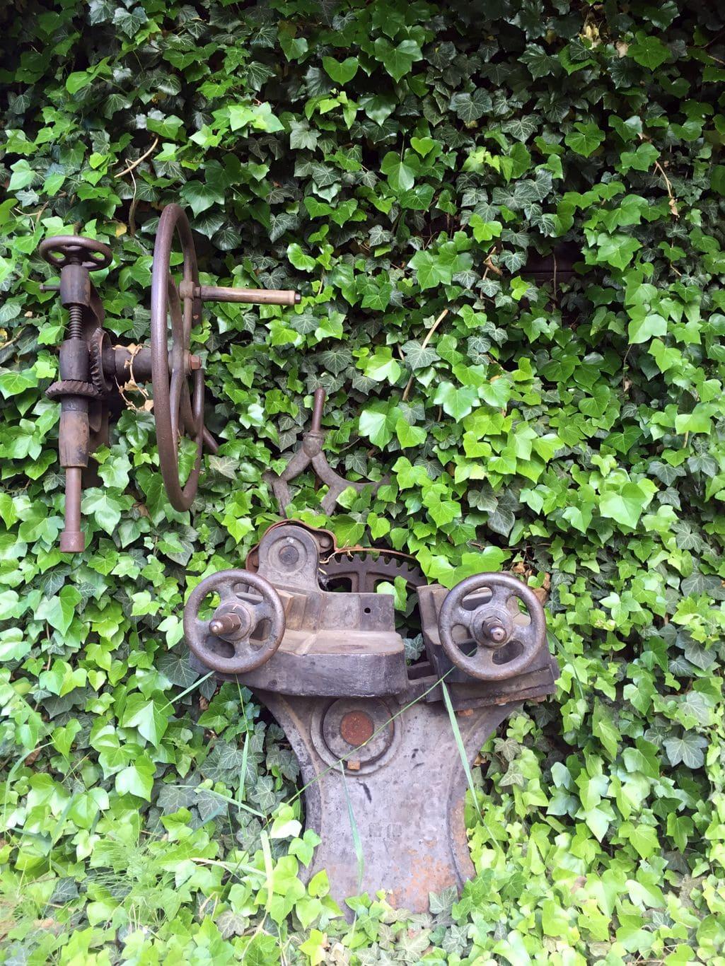 Muzeum kowalstwa - maszyna do wyginania metalu