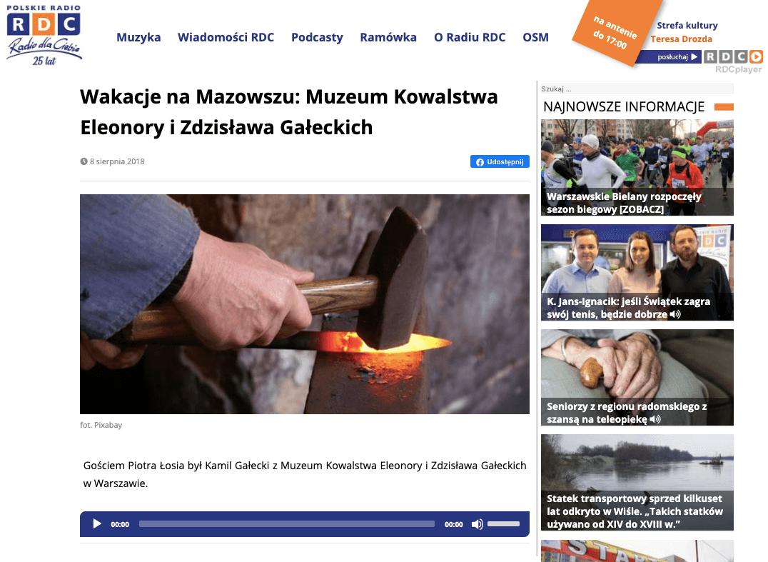 Kamil Gałecki - Polskie Radio Dla Ciebie